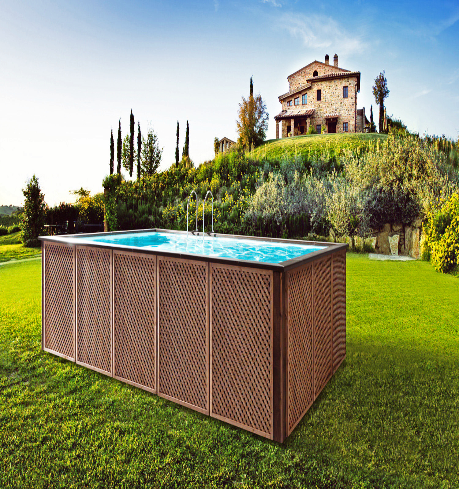 Piscina Laghetto Woody